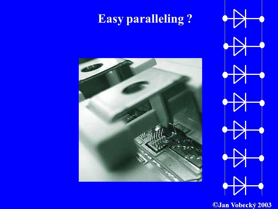 Easy paralleling ©Jan Vobecký 2003