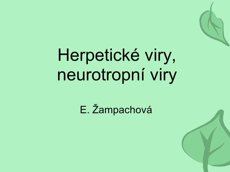 Herpetické viry, neurotropní viry