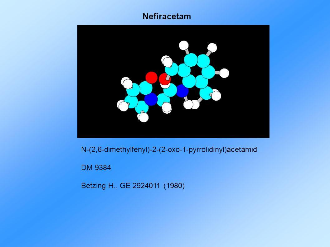 Nefiracetam N-(2,6-dimethylfenyl)-2-(2-oxo-1-pyrrolidinyl)acetamid