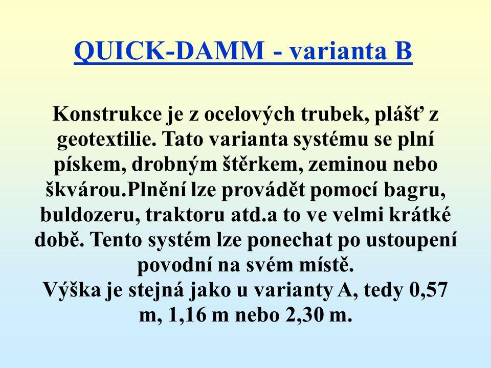 QUICK-DAMM - varianta B
