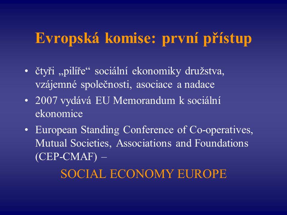 Evropská komise: první přístup