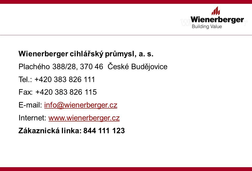 Wienerberger cihlářský průmysl, a. s.