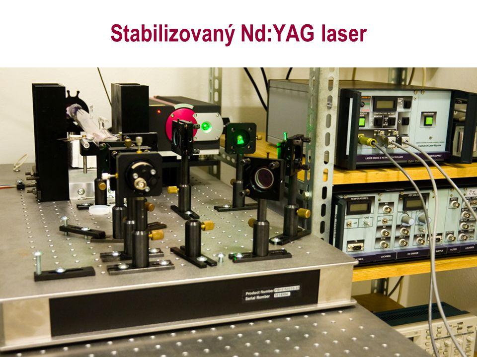 Stabilizovaný Nd:YAG laser