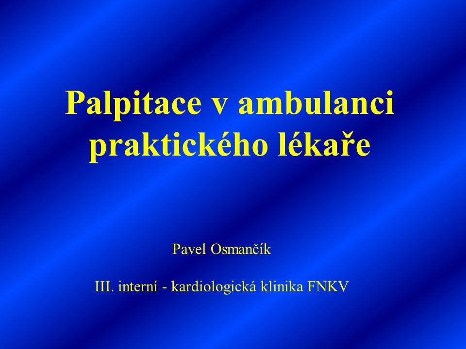 III. interní - kardiologická klinika FNKV