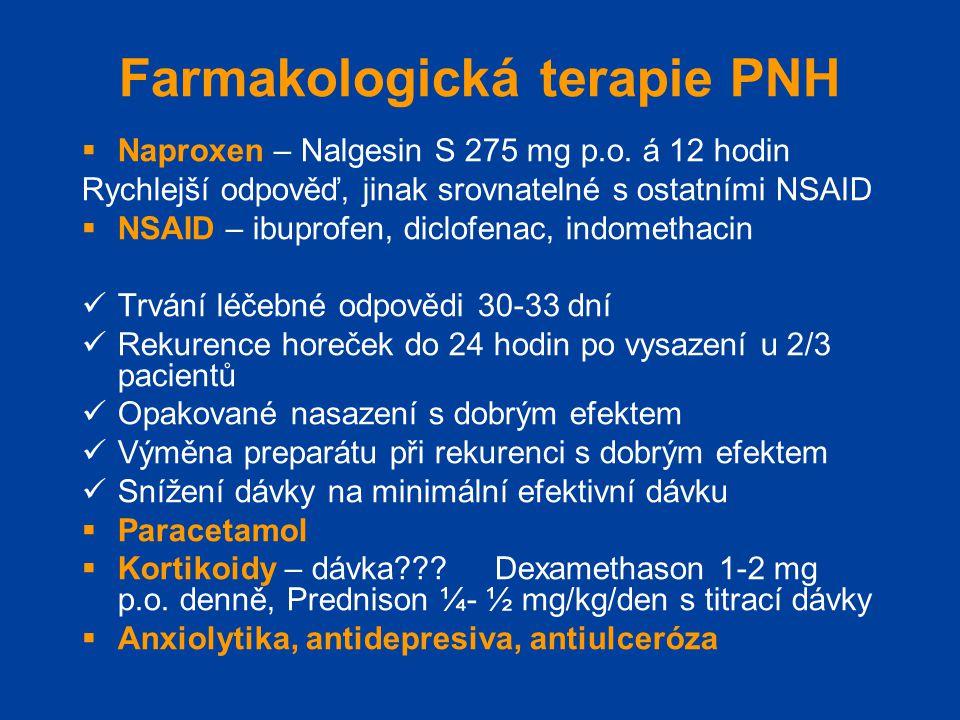 Farmakologická terapie PNH