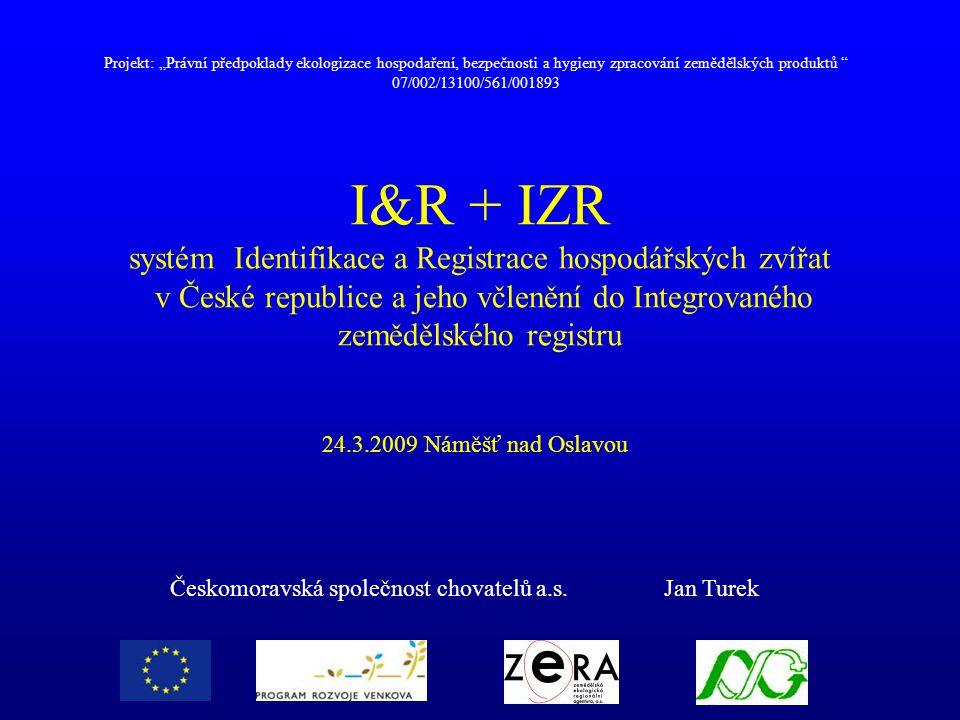 Českomoravská společnost chovatelů a.s. Jan Turek