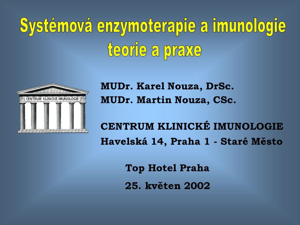 Systémová enzymoterapie a imunologie