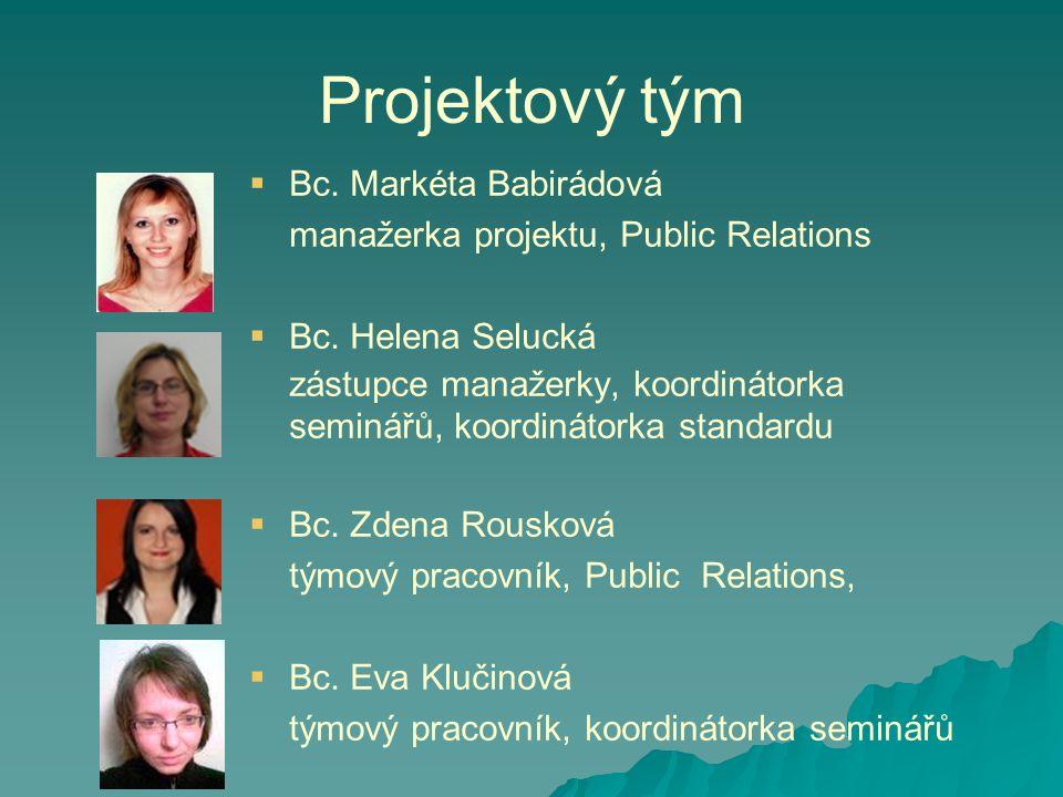 Projektový tým Bc. Markéta Babirádová