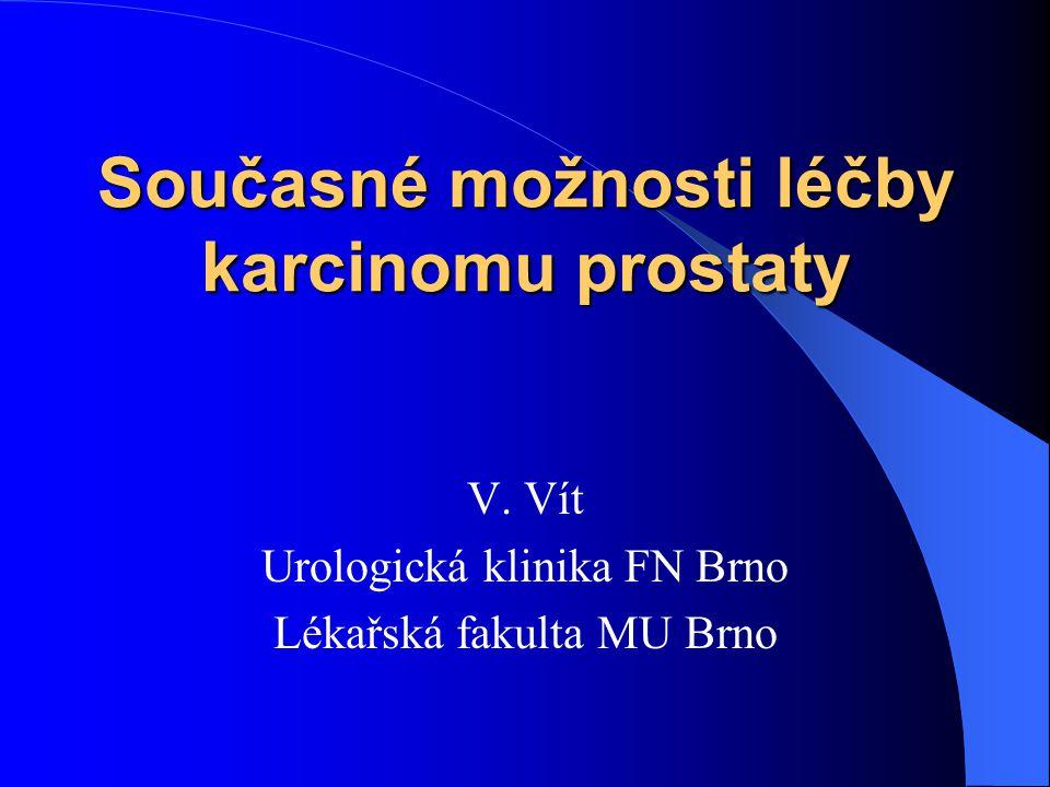 Současné možnosti léčby karcinomu prostaty