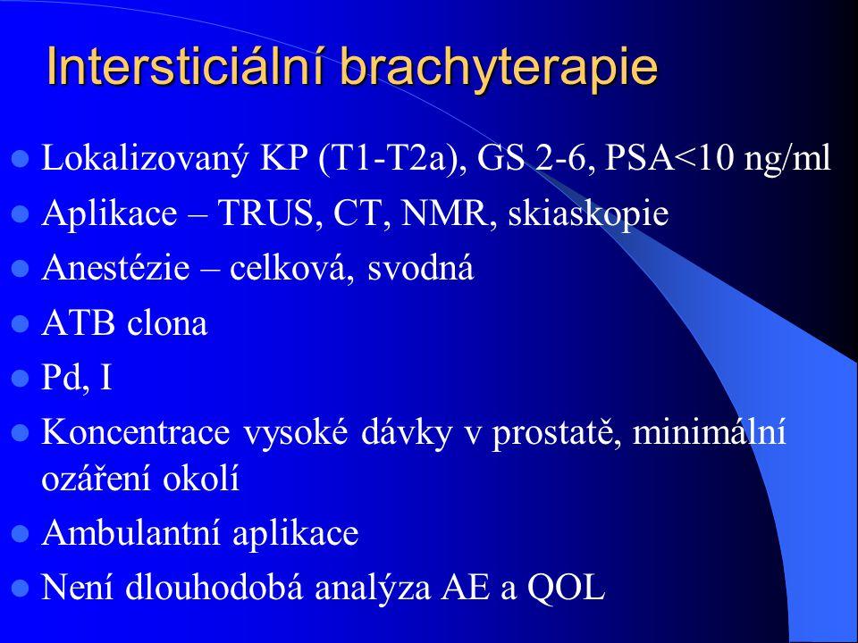 Intersticiální brachyterapie