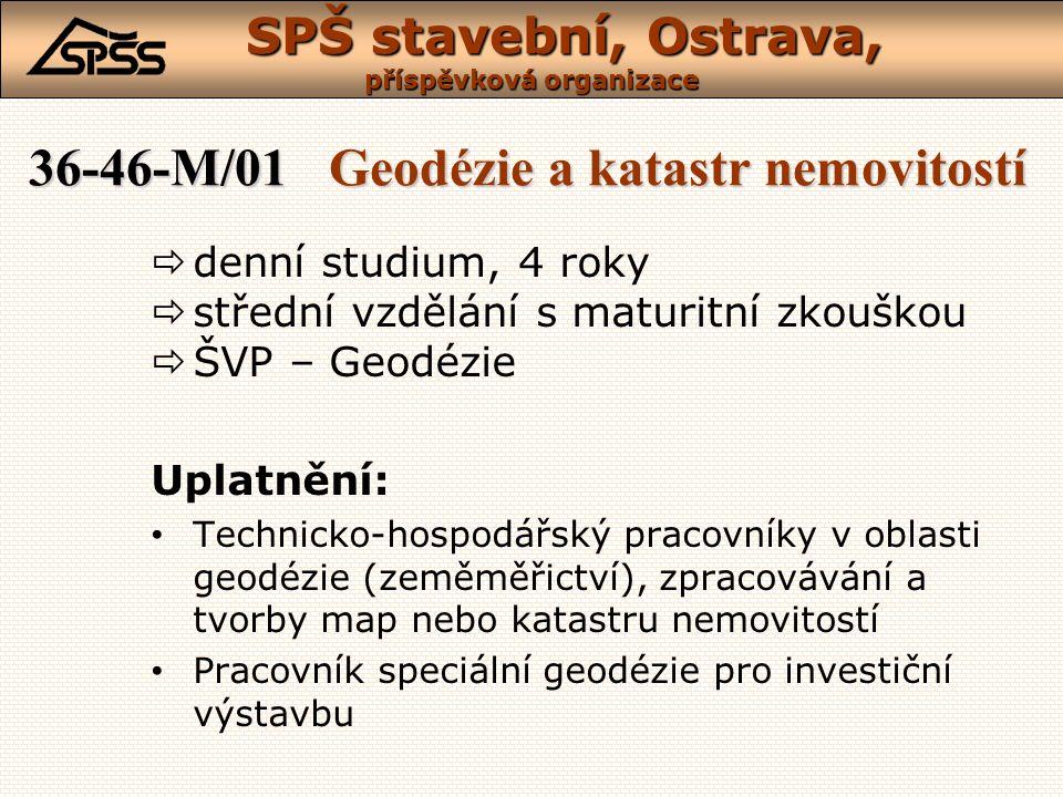 36-46-M/01 Geodézie a katastr nemovitostí