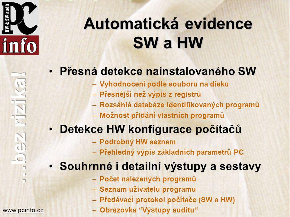 Automatická evidence SW a HW