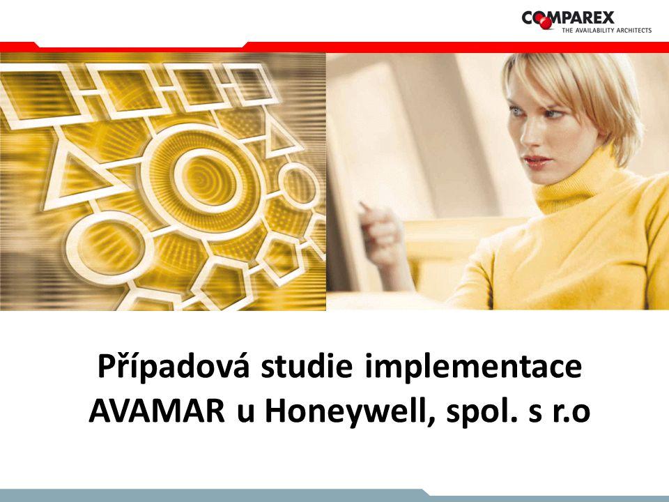 Případová studie implementace AVAMAR u Honeywell, spol. s r.o