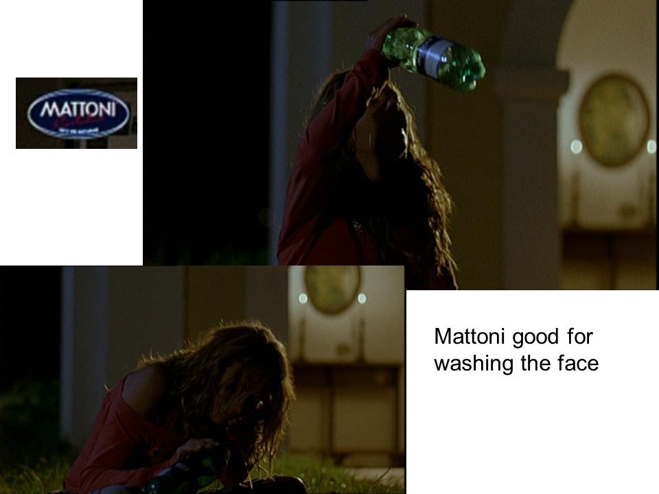 Mattoni good for washing the face