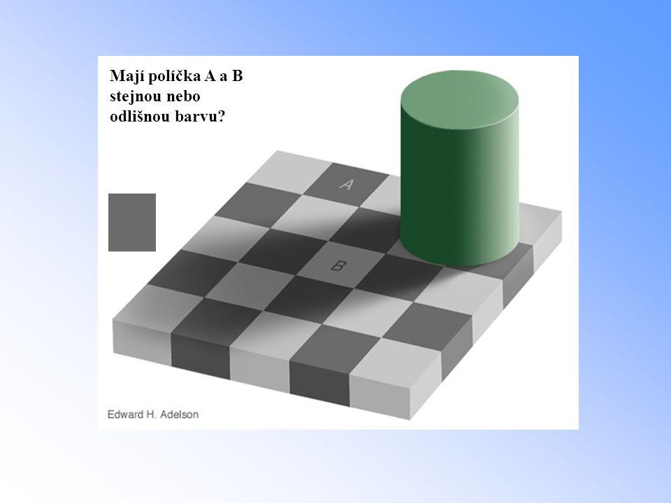 Mají políčka A a B stejnou nebo odlišnou barvu