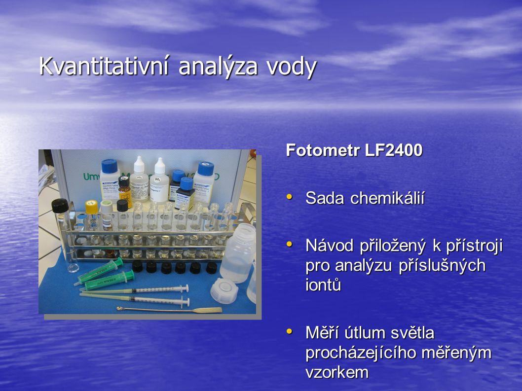 Kvantitativní analýza vody