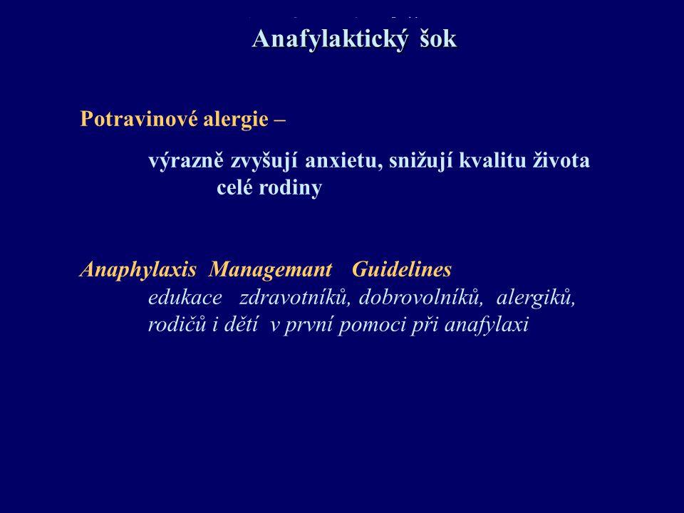 Anafylaktický šok Anafylaktický šok