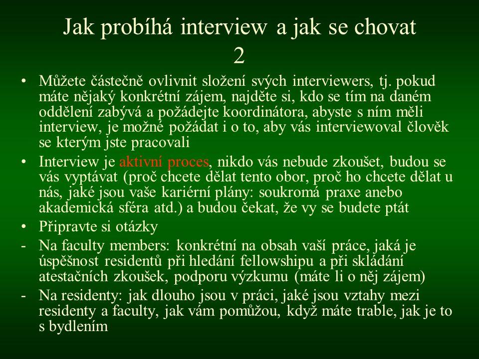 Jak probíhá interview a jak se chovat 2