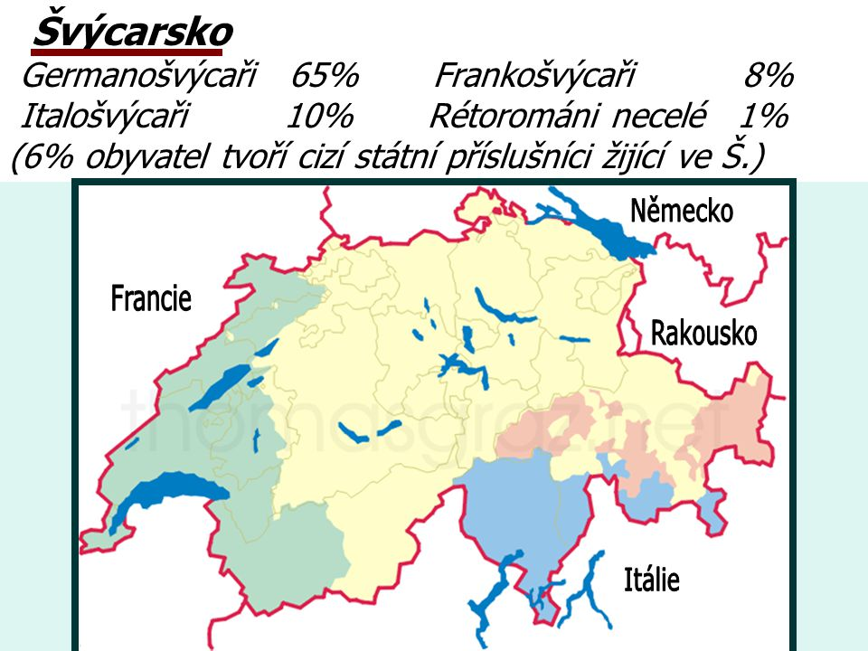 Německo Francie Rakousko Itálie