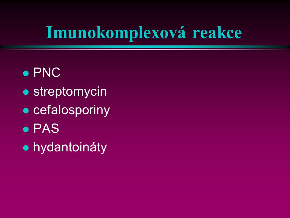 Imunokomplexová reakce