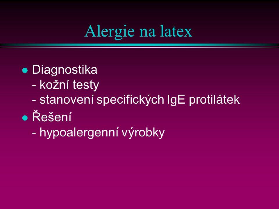 Alergie na latex