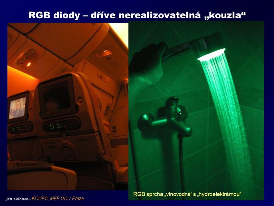 """RGB diody – dříve nerealizovatelná """"kouzla"""