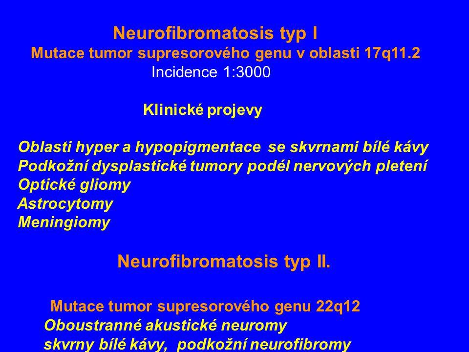 Mutace tumor supresorového genu 22q12