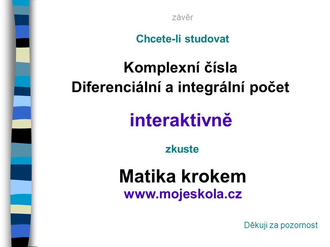 interaktivně Matika krokem www.mojeskola.cz