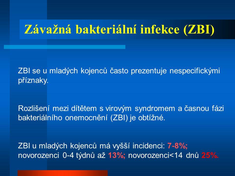 Závažná bakteriální infekce (ZBI)