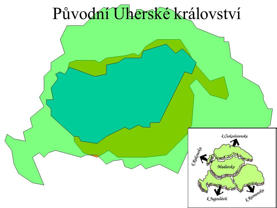 Původní Uherské království