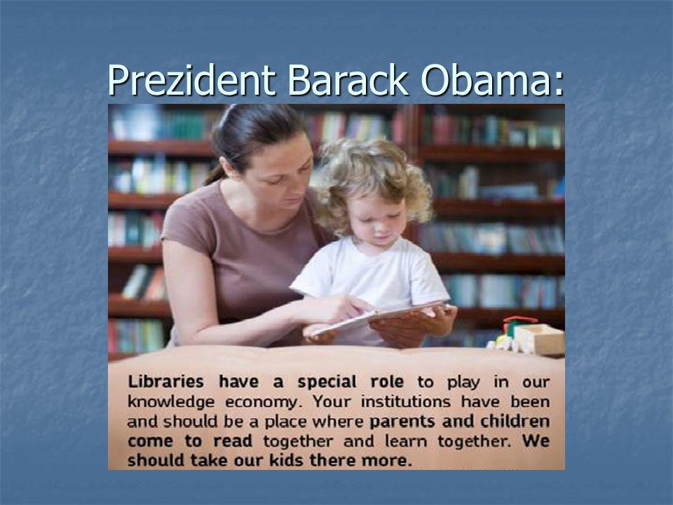 Prezident Barack Obama: