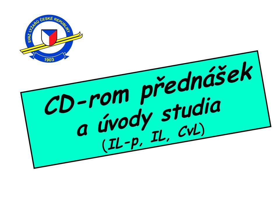CD-rom přednášek a úvody studia (IL-p, IL, CvL) 4