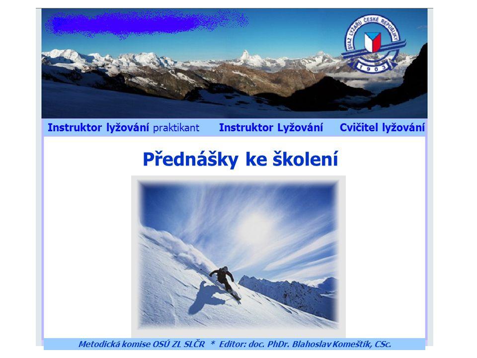 Instruktor lyžování praktikant Instruktor Lyžování Cvičitel lyžování