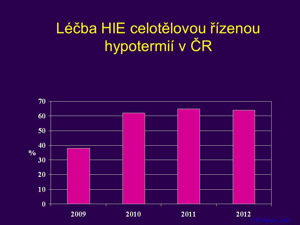 Léčba HIE celotělovou řízenou hypotermií v ČR