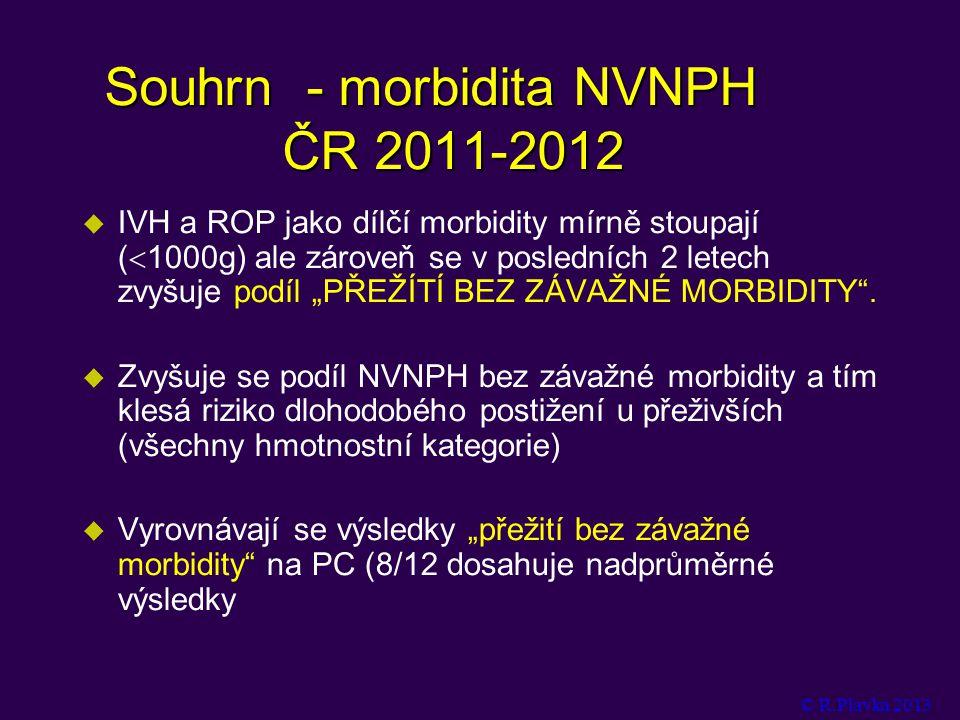 Souhrn - morbidita NVNPH ČR 2011-2012