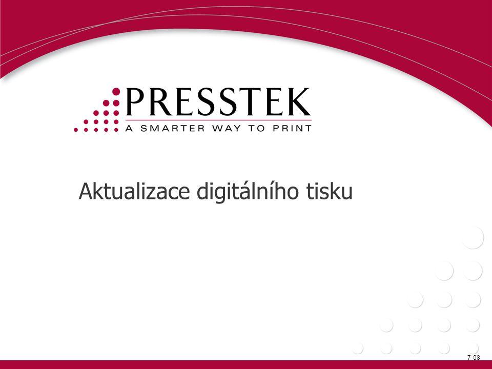 Aktualizace digitálního tisku