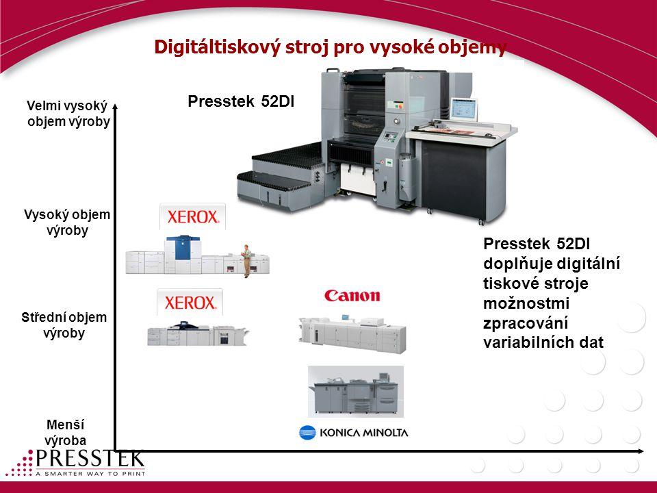 Digitáltiskový stroj pro vysoké objemy