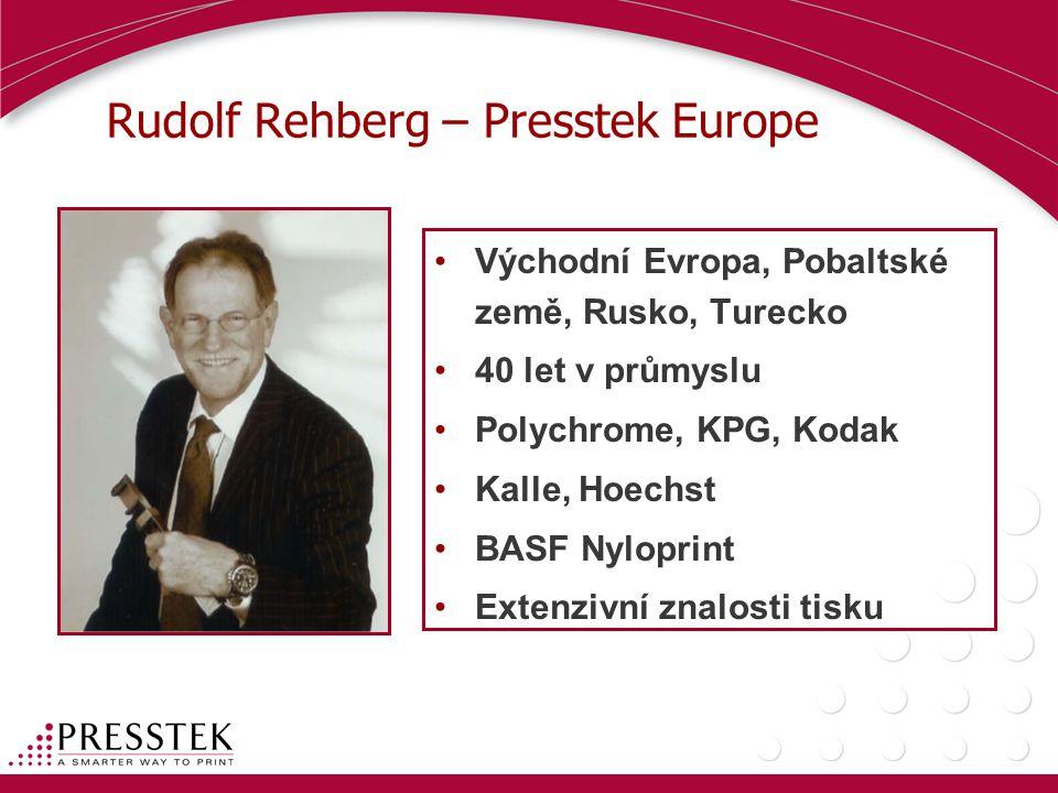 Rudolf Rehberg – Presstek Europe