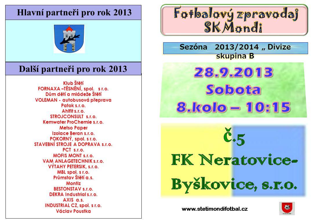 č.5 FK Neratovice-Byškovice, s.r.o.