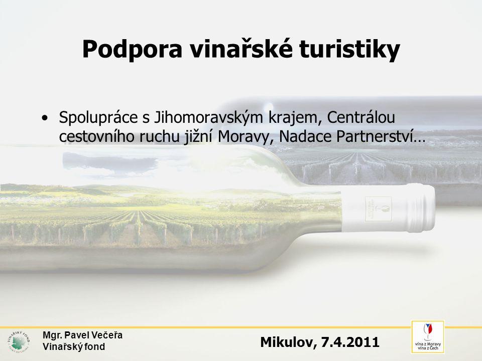 Podpora vinařské turistiky