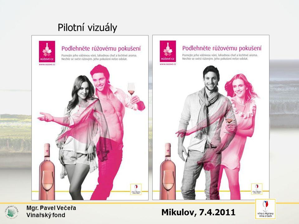 Pilotní vizuály Mgr. Pavel Večeřa Vinařský fond Mikulov, 7.4.2011