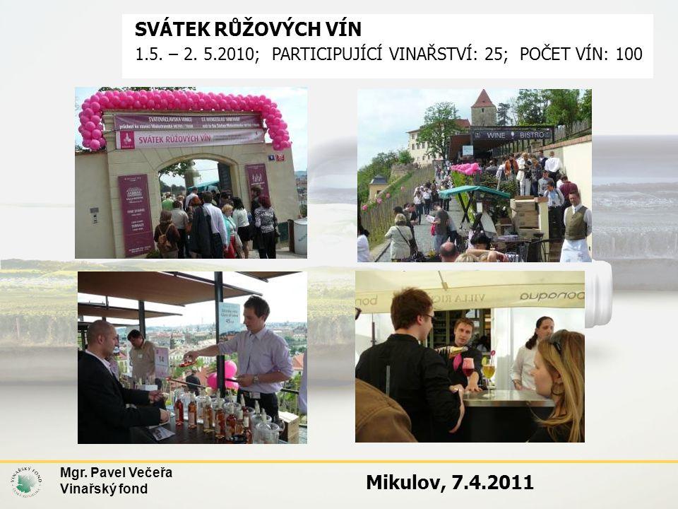 SVÁTEK RŮŽOVÝCH VÍN Mikulov, 7.4.2011