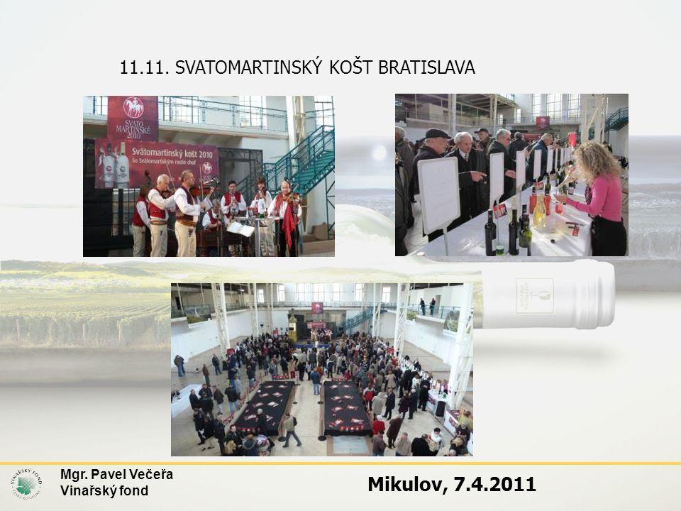 Mikulov, 7.4.2011 11.11. SVATOMARTINSKÝ KOŠT BRATISLAVA