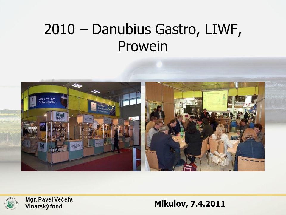 2010 – Danubius Gastro, LIWF, Prowein