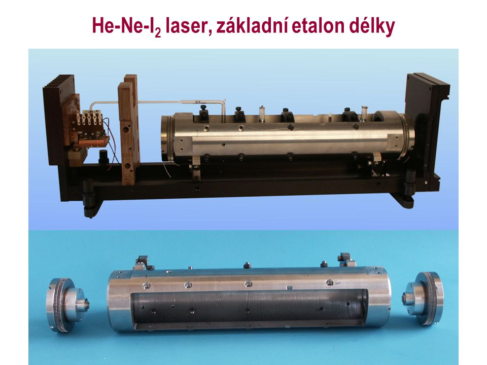 He-Ne-I2 laser, základní etalon délky