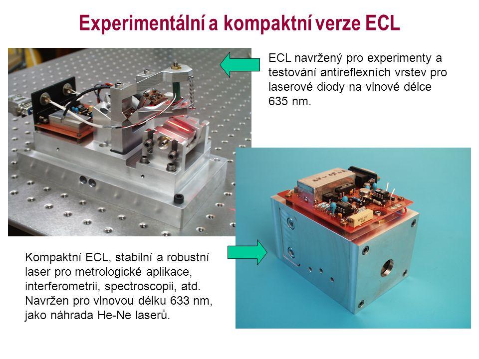 Experimentální a kompaktní verze ECL
