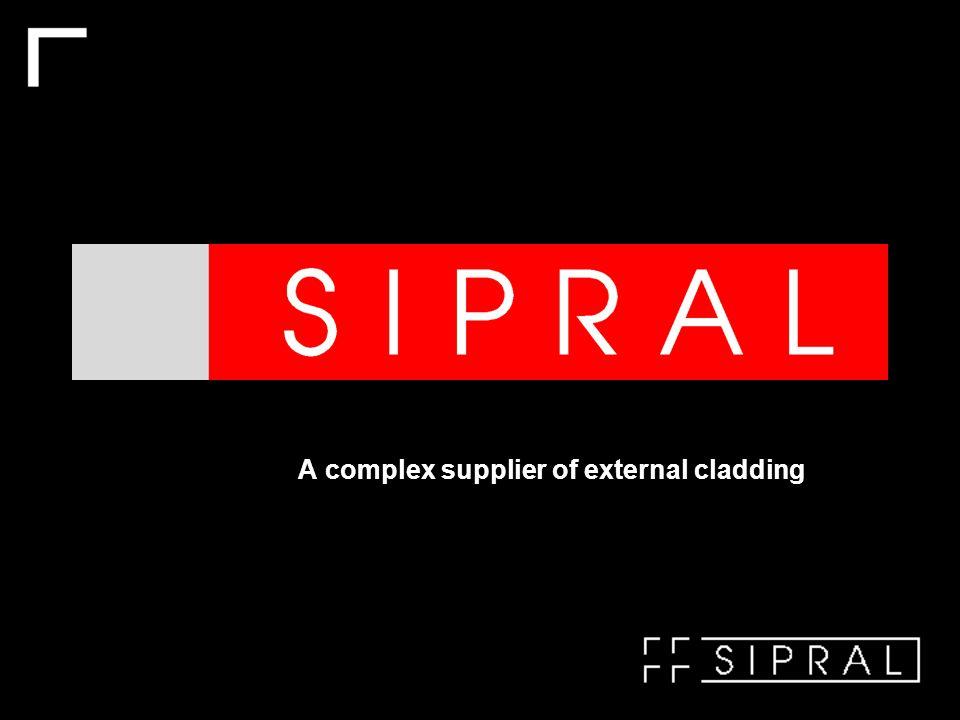 A complex supplier of external cladding