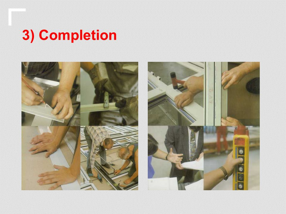 3) Completion