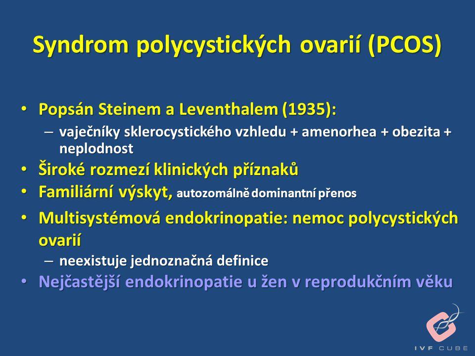 Syndrom polycystických ovarií (PCOS)
