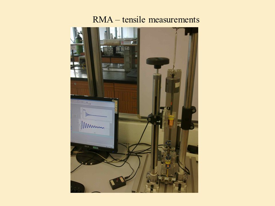 RMA – tensile measurements